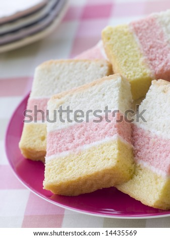 Slices of Angel Cake