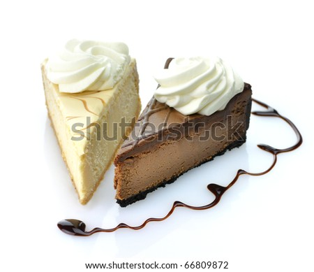 slices of cheesecake