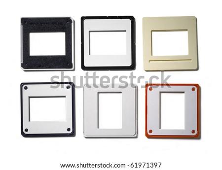 Slide empty frames