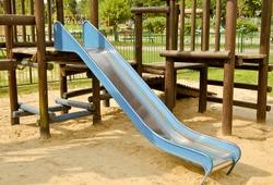 Slide on the playground