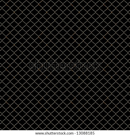 Rusty Chain Link Fence Texture