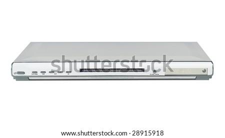 Slim Silver Single DVD player