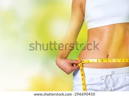 Slim, slimming, weight.