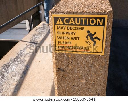 Slippery when wet