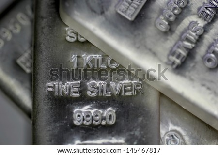 Sliver Bullion Bars