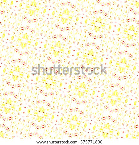 Sloping melting seamless colorful ornament for design and background. Aspect ratio 1:1