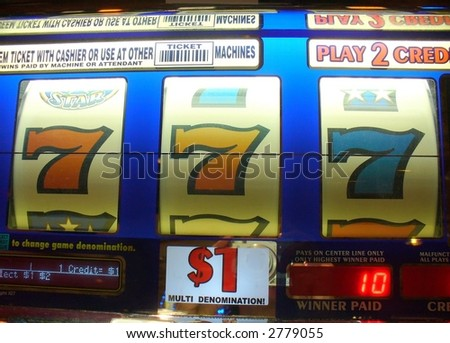 slot machine payoff