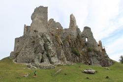 slovak ruins of castles