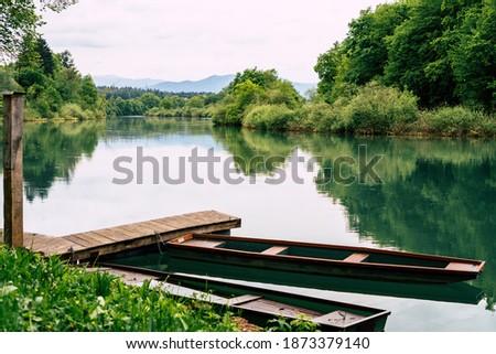 Slovenia - Amazing park in Novo Mesto Foto stock ©