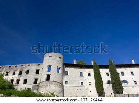 Slovenian Karst Village - stock photo