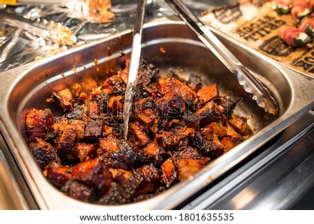 Photo of  Slow smoked brisket burnt ends