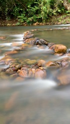 Slowshutter of river water