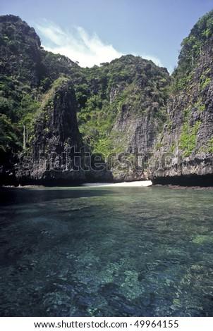 Small Beach on Ko Phi Phi Le, Thailand