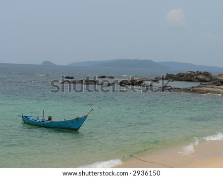 Small Boat in the Beach