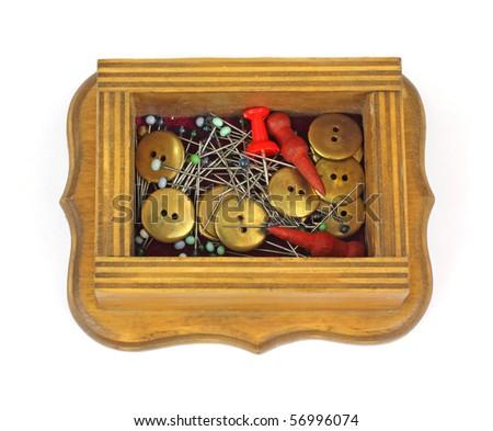 Small Box Vintage Items