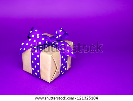 Small box with the surprise inside