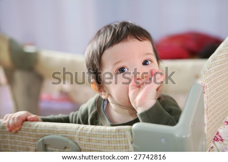Baby Small Bed Small Boy in Baby Child's Bed