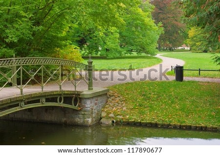 small bridge canal