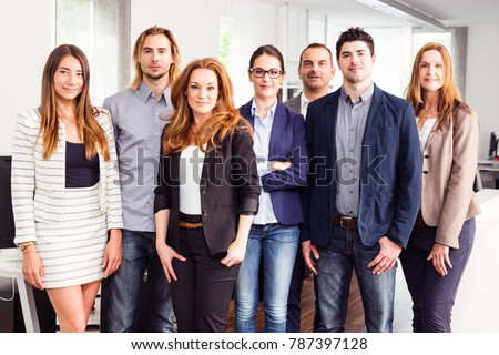Small Business Team In Their Office