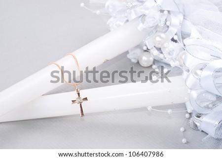 small crucifix on chain