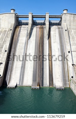 Small dam in France