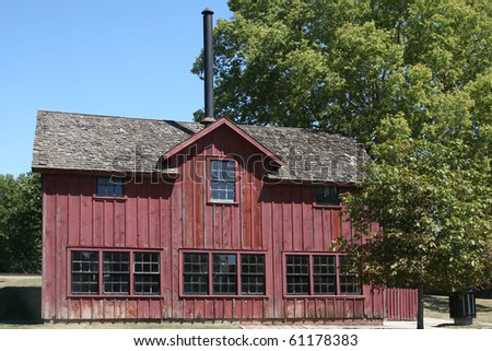Small factory from the nineteenth century