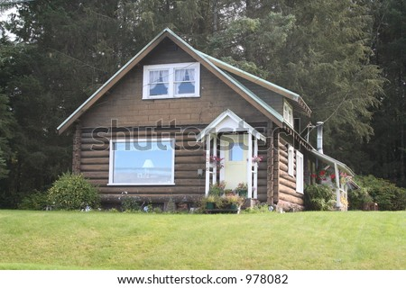 small family house
