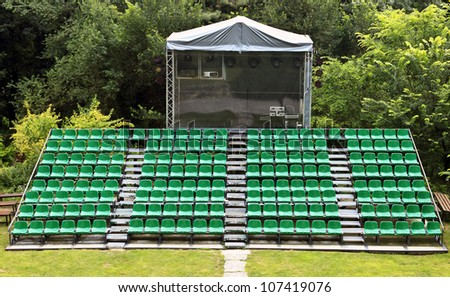 small festival arena seats