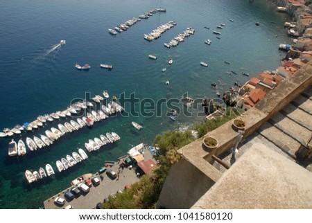 small fishing port #1041580120