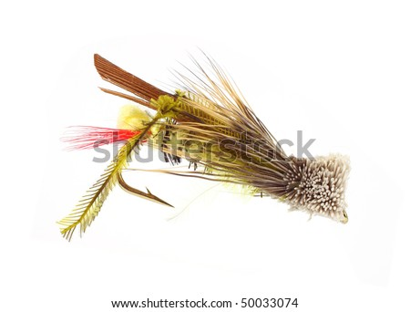 Small fly-fishing grasshopper fly
