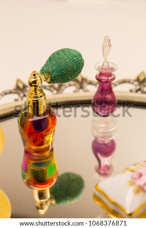 Small fragrances with reflection #1068376871