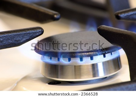 small gas burner for a small pans