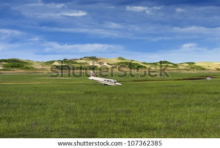 Small general aviation aircraft crash just before Provincetown airport