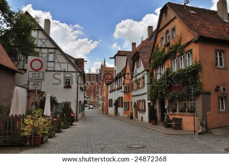 Small German Town in Bavaria