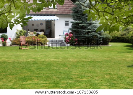 Small House With Beautiful Garden Small House With