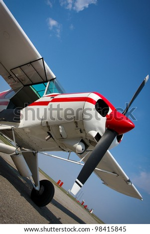 Small jet and propeller