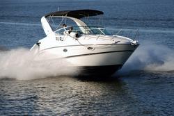 Small luxurious yacht