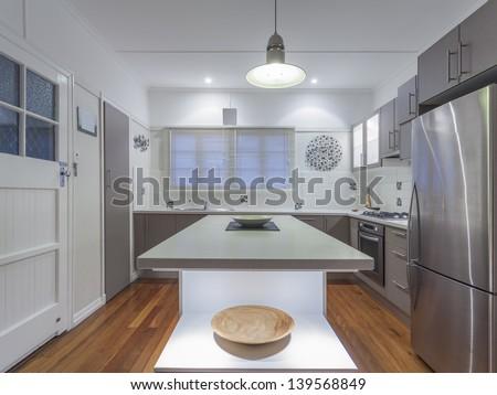 Small modern kitchen in Australian home