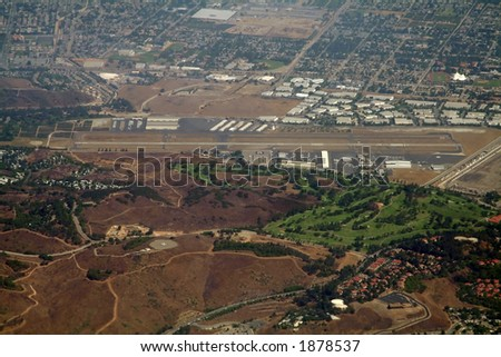small municipal airport in california