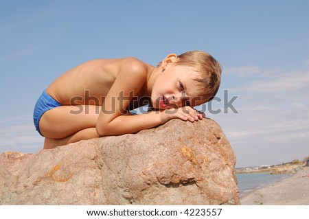 stock photo small naked wet boy on the stone 4223557 amateur wives photography. British wives and couples become pornstars as ...