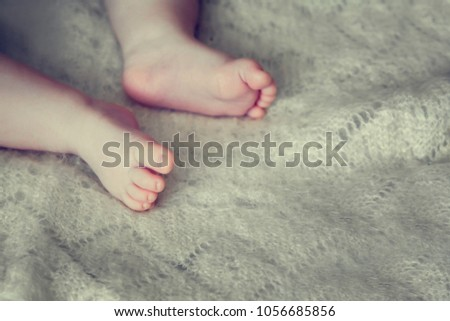 Sweet baby feet - body parts   Images and Stock Photos