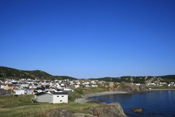 Small Newfoundland town of Twillingate