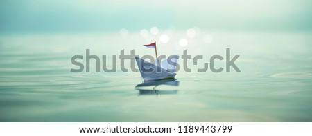 Small Paper Boat  #1189443799