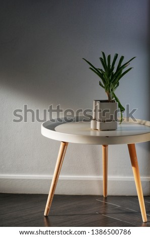 Small plant on the table #1386500786