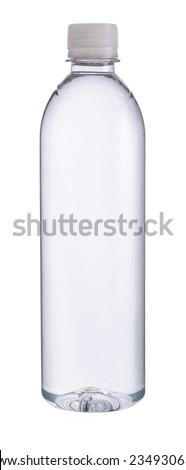Small plastic water bottle #234930634