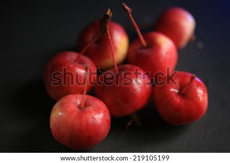 http://www.shutterstock.com/pic-219105199/stock-photo-small-red-apples-fresh-vitamins-health.html?src=r54LTuE4PSdjVp3RXIpcnQ-1-19