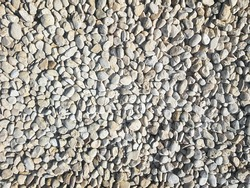 Small rock stone texture for garden and beach