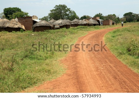 Small Rural Village in Uganda - The Pearl of Africa