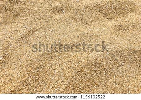 Small sea pebbles background, gravel. Stones pebble background texture. #1156102522
