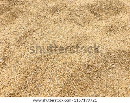 Small sea pebbles background, gravel. Stones pebble background texture. #1157199721